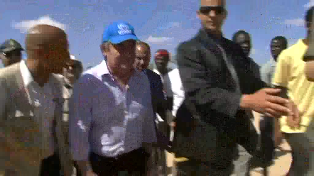 Tunisia: Guterres at Choucha Camp