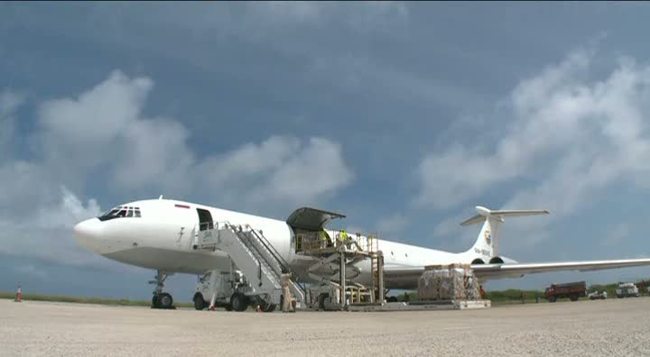 Somalia: First airlift