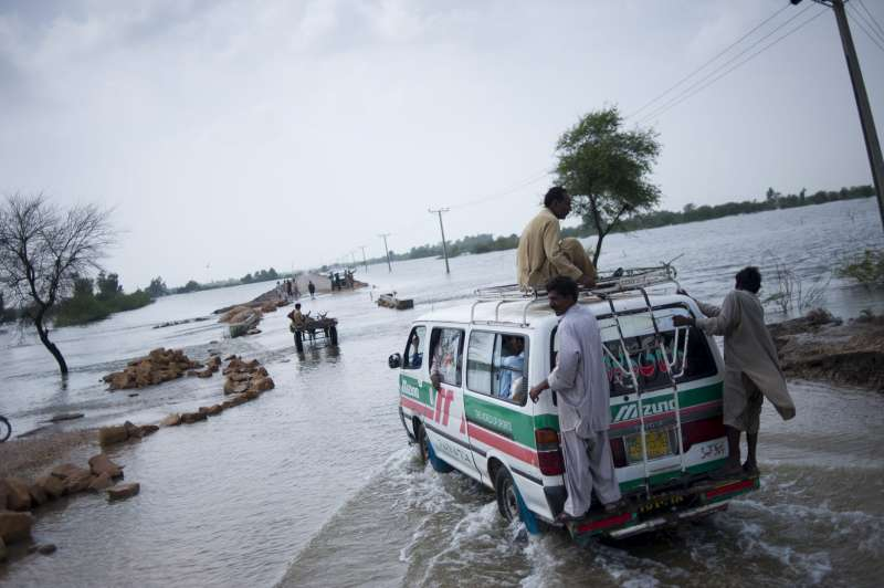 Flooding has hindered transportation in the region, which makes the delivery of aid slow and difficult.