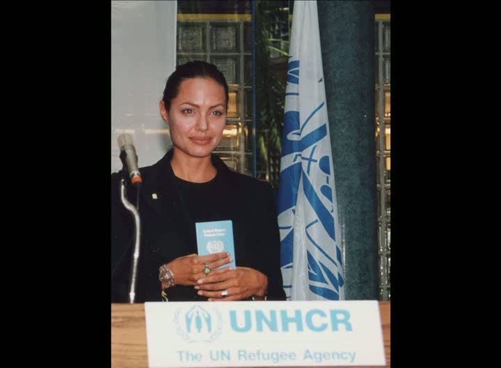 UNHCR pays tribute to Goodwill Ambassador Angelina Jolie