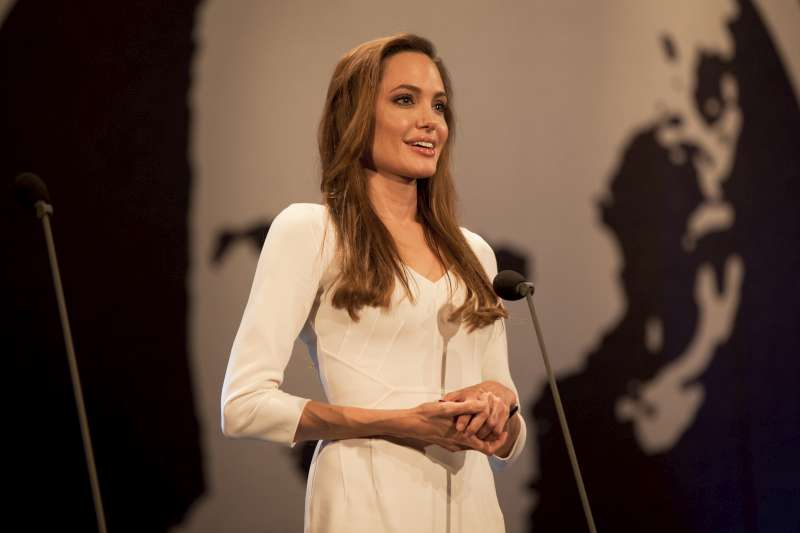 Jolie speaks about her experience working in the field with UNHCR, saying it has been an honour and a privilege to meet refugees from all over the world and that the experience has made her a better person.