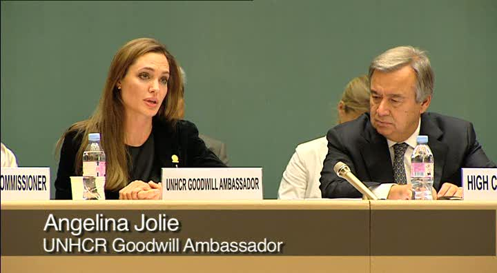 ExCom: Angelina Jolie Addresses Annual Meeting