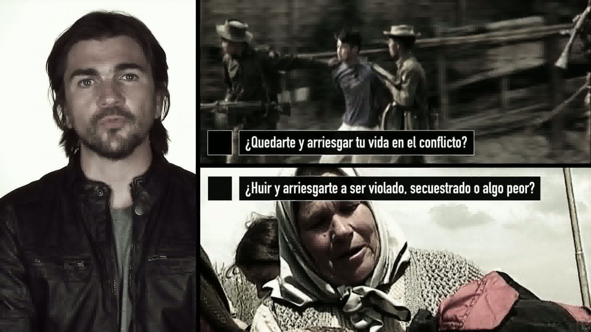 Juanes - No one chooses to be a refugee
