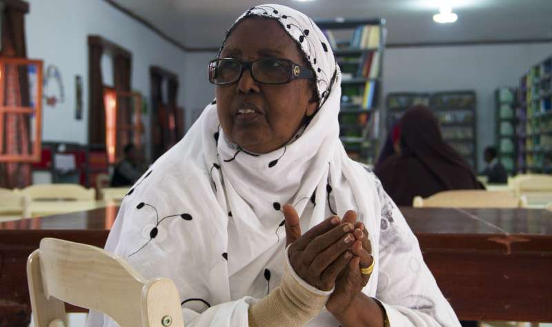 Mama Hawa is the formidable force behind an ambitious education programme for women and girls in Galkayo, Somalia.