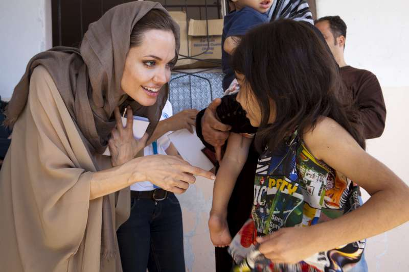 Unhcr Syrian Refugees In Lebanon Tell Unhcr S Guterres And Angelina Jolie Of Escape And Challenges