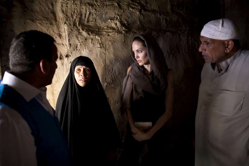 UNHCR Special Envoy Angelina Jolie visits an area of the Iraqi […]