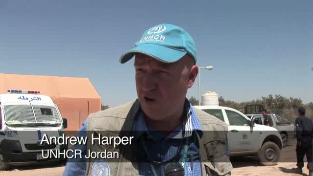 Jordan's Za'atri Camp: Working Round-the-Clock