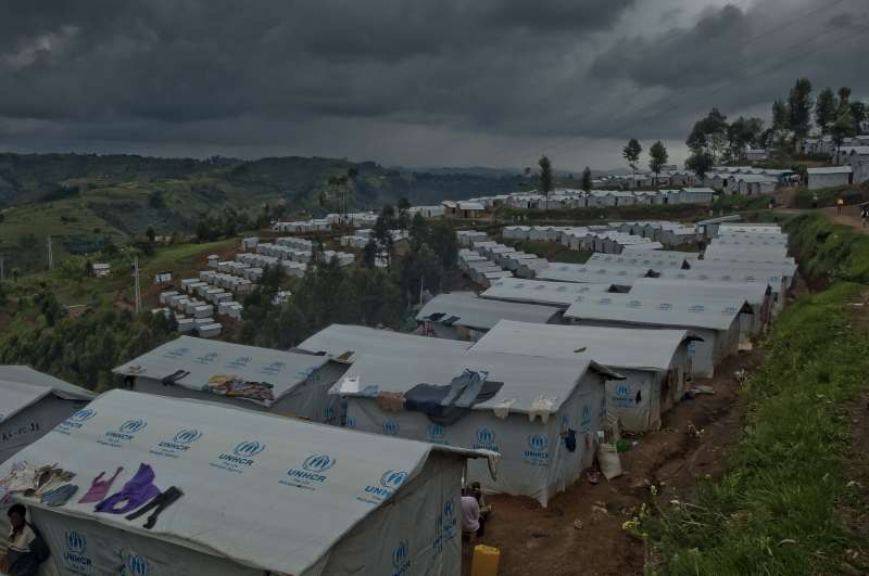 These rows of homes in Kigeme are built on terraces dug out of […]