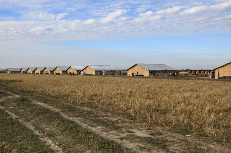 New government-built shelters in the Ohn Taw Gyi site for internally […]