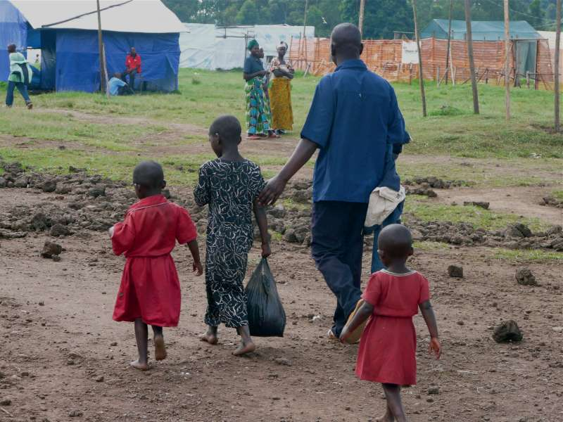 On the run, alone and young: Congolese children flee to Uganda