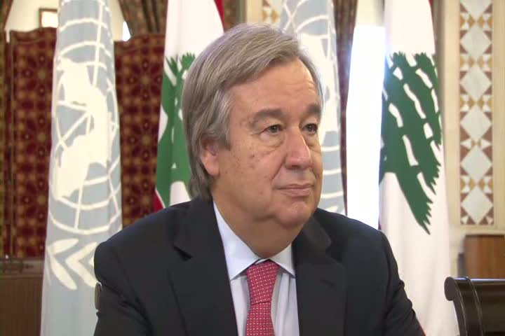 Lebanon: Guterres urges support