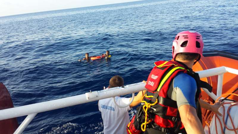 The Italian coastguard rescues two of the 156 survivors of the […]