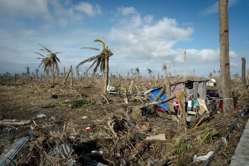 Damage in Tanauan, Leyte. Typhoon Haiyan ripped through the Philippines […]