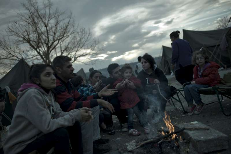 The Harmanli camp was set up to shelter 450 people. But more […]