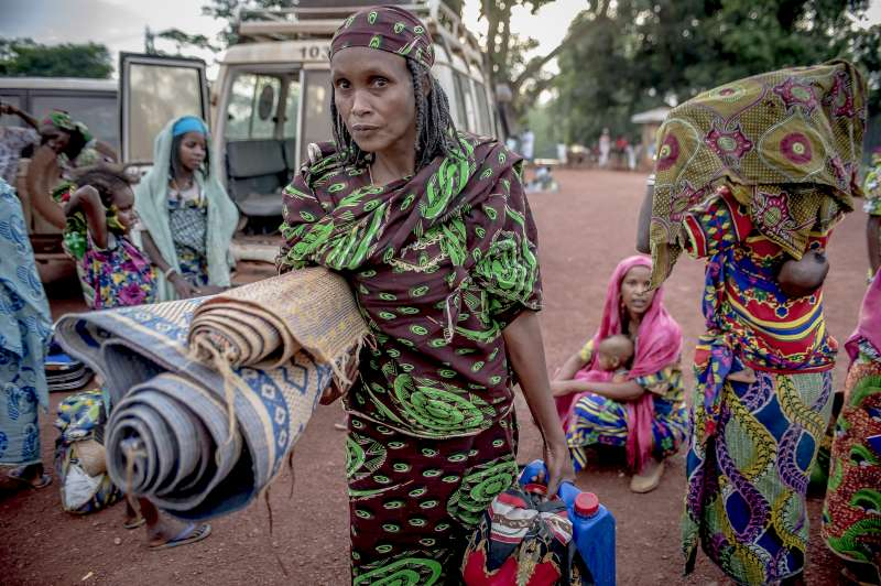 These women from Central African Republic are among the hundreds of ...
