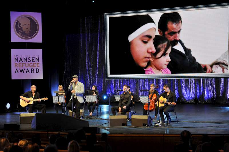 "Swedish-Lebanese singer-songwriter Maher Zain performs a new song entitled ""One Day"" at the Nansen Refugee Award ceremony. Maher recently visited Lebanon with UNHCR to meet Syrian refugees.  ""One Day"" was inspired by those he met and the millions of other forcibly displaced around the world."