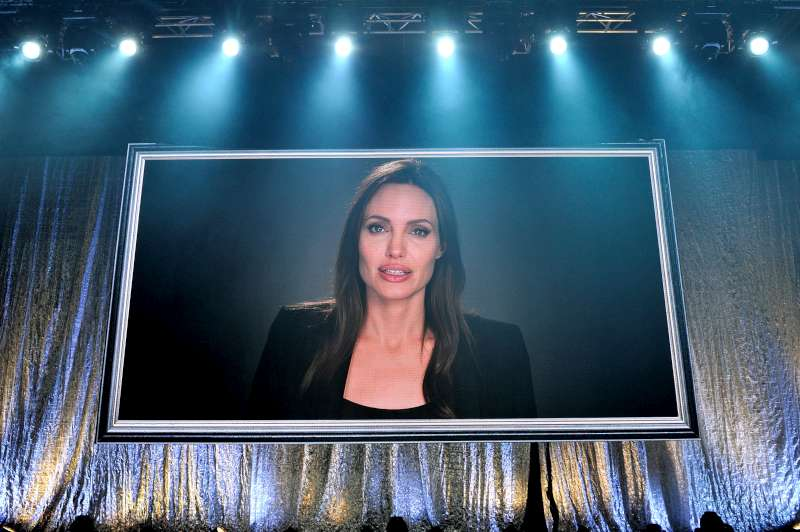 UNHCR Special Envoy, Angelina Jolie, sent a special video message, praising the work of the women of Butterflies at the Nansen Refugee Award ceremony. 