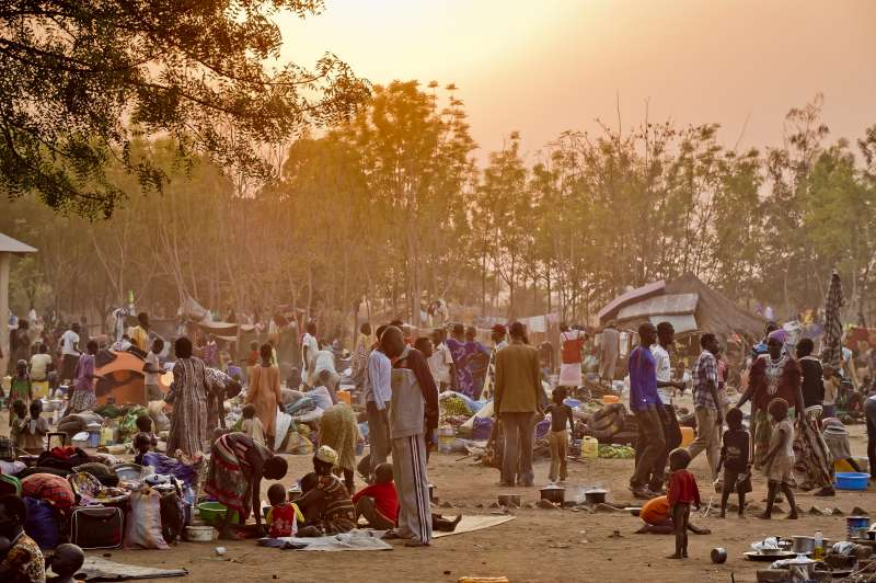 South Sudanese seek a chance to get on with life without fear