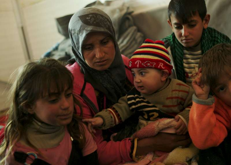 Winter storms bring more hardship to refugees in Jordan's Za'atari camp