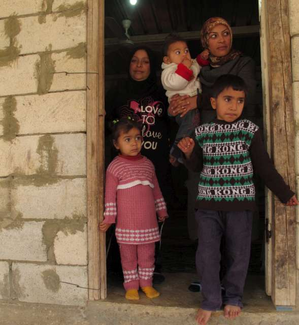 Humanity, hope and thoughts of home: Syrian refugees in southern Leban