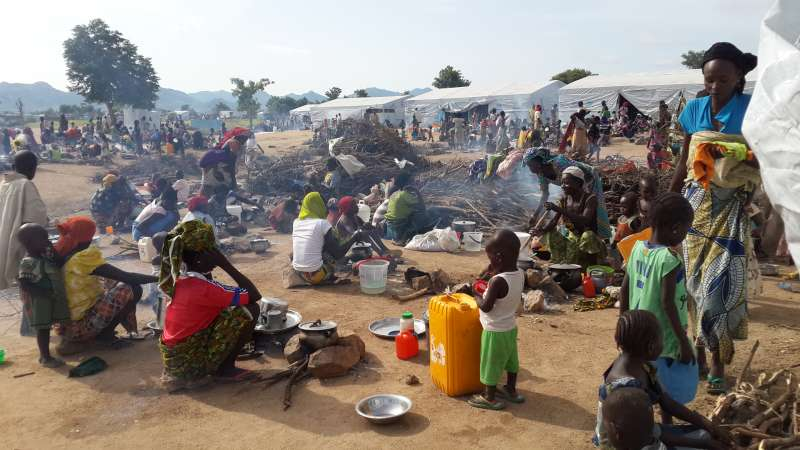 Some 16,000 refugees seek shelter in Cameroon following clashes in north-east Nigeria