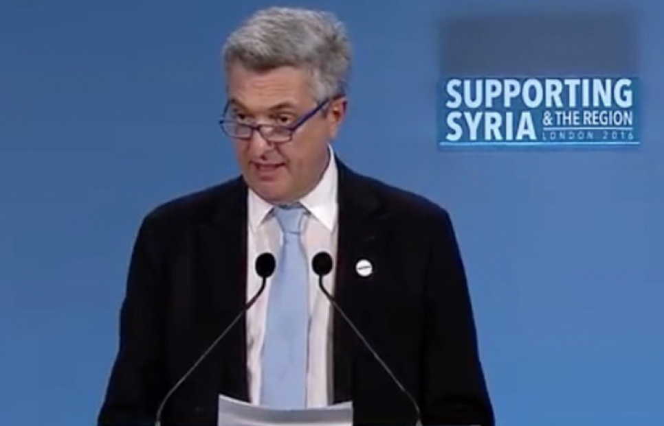 High Commissioner calls for more funding for Syrian Refugees