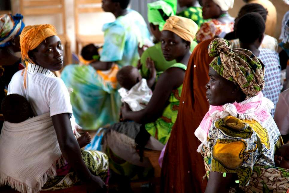 Uganda / Refugees - Congolese / Kyaka II, Malaria is the number one cause of morbidity in the Kyaka Settlement. The GTZ supported health facility sees both pregnant women and children under 5 who are the most at risk of severe malaria. / UNHCR / S. Hoibak / Nov 2010