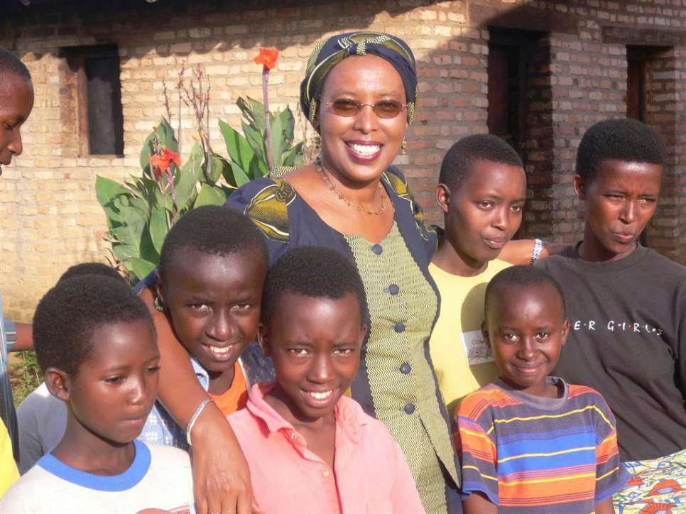 "2005 - Marguerite Barankitse, dubbed the ""Angel of Burundi,"" for her tireless efforts on behalf of children affected by war, poverty and disease. Through her work with her organization, Maison Shalom, Barankitse sent a message of hope for the future. The Burundian Tutsi and her team ran four ""children's villages"" in Burundi as well as a centre for orphans and other vulnerable children in Bujumbura. She said her work was inspired by one goal: peace."