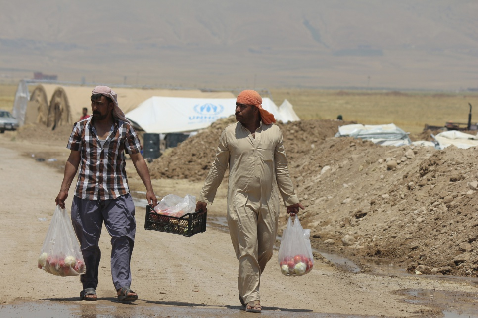 408ae7ab0a6 UNHCR - UNHCR concerned at restrictions on displaced Iraqis in camps