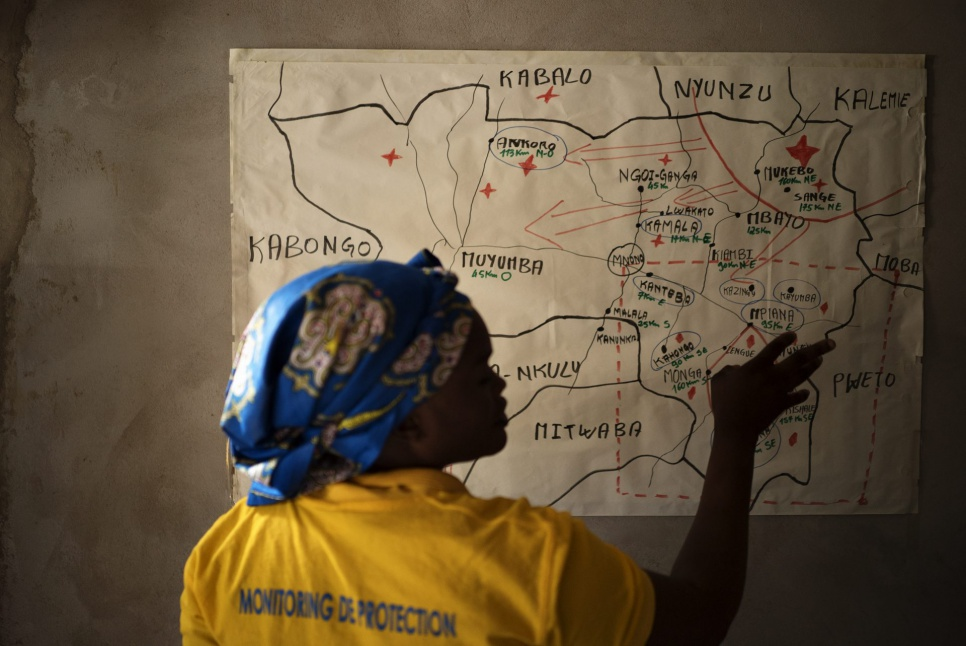 Marie is the local coordinator for IEDA Relief in Manono, DRC. She and her team work to help the thousands uprooted by war and violence.