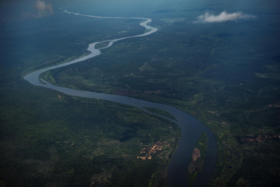 The Luvua River winds through northern Katanga, a volatile and resource-rich region in the Democratic Republic of Congo.