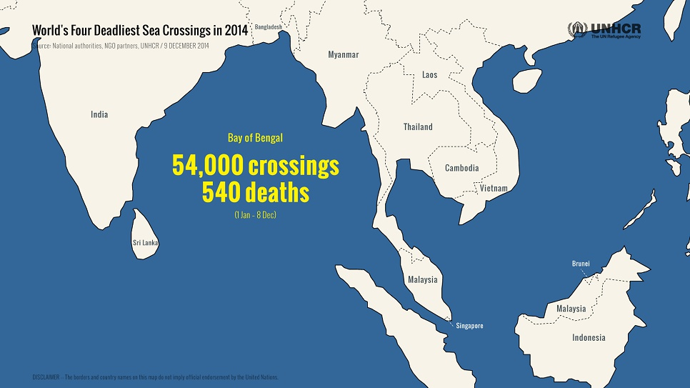 Often hoping to reach Australia, tens of thousands have set out this year from Bangladesh and Myanmar – heading to Thailand, Malaysia, or Indonesia.