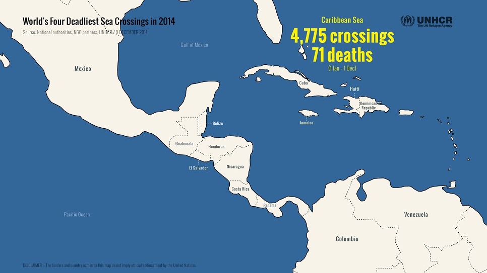Thousands have taken to boats this year in the Caribbean Sea, hoping to escape poverty or find asylum in the Bahamas or Florida.