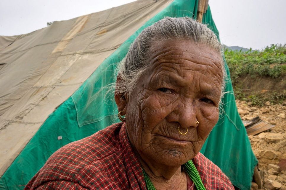 The April earthquake trapped Antari Maya Jimba, 81, in the rubble of a collapsed home. Her grandson pulled her free, and she sustained no significant injuries.