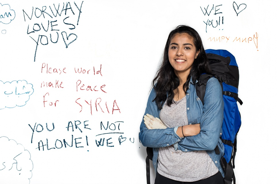 Hajrah Arshad, 18, from Norway.<br><br>Hajrah was born in Norway and travelled to Budapest to volunteer. She also volunteered at the Serbia-Hungary border, where she was horrified by the conditions.