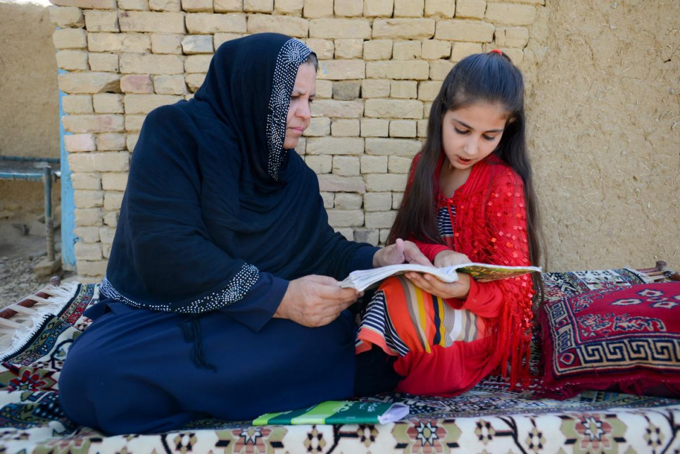 "Sawera Niazmand, 11, is Asifi's youngest daughter and a student at her mother's school. ""My dream is to become an eye doctor,"" she says, ""to bring light to people who cannot see."""