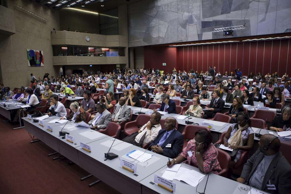 Switzerland / The Annual Consultations with Non-Governmental Organizations at the International Conference Center Geneva, Switzerland. / UNHCR / S. Hopper / June 2014
