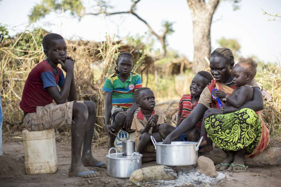 Unhcr five years into southern sudan conflict refugees still flee five years into southern sudan conflict refugees still flee sciox Images