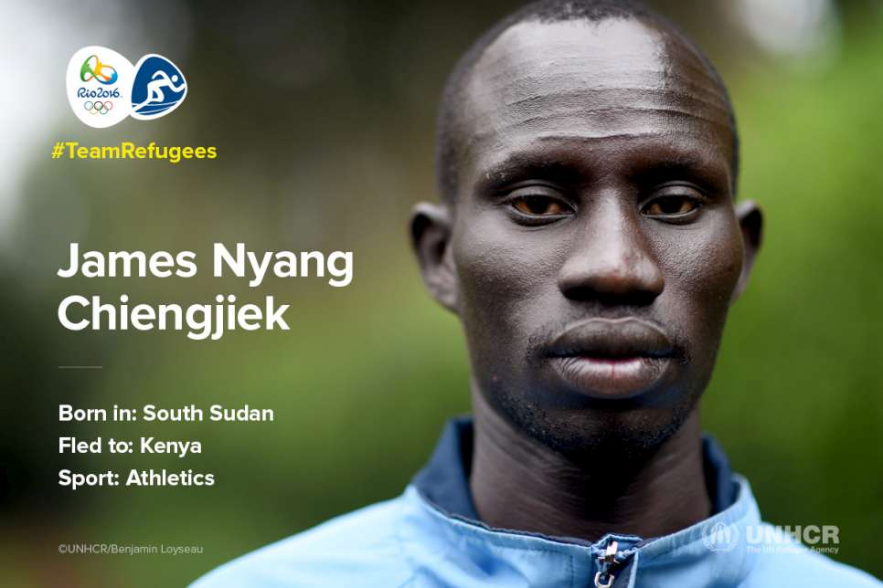 TeamRefugees: James Nyang Chiengjiek