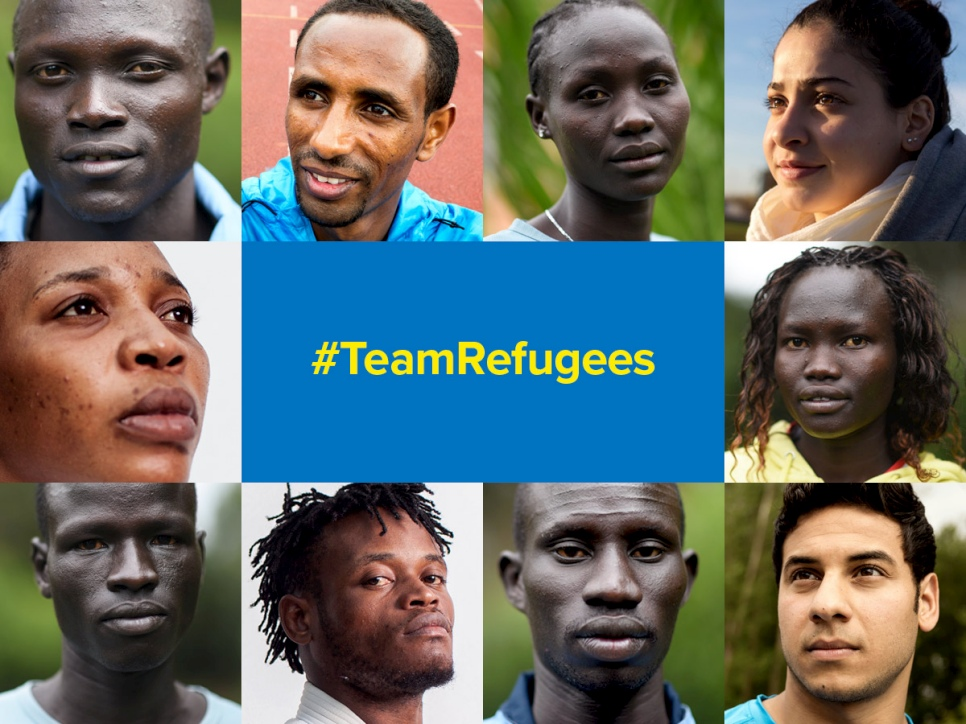 A Team of 10 refugees will compete at the 2016 Olympics in Rio