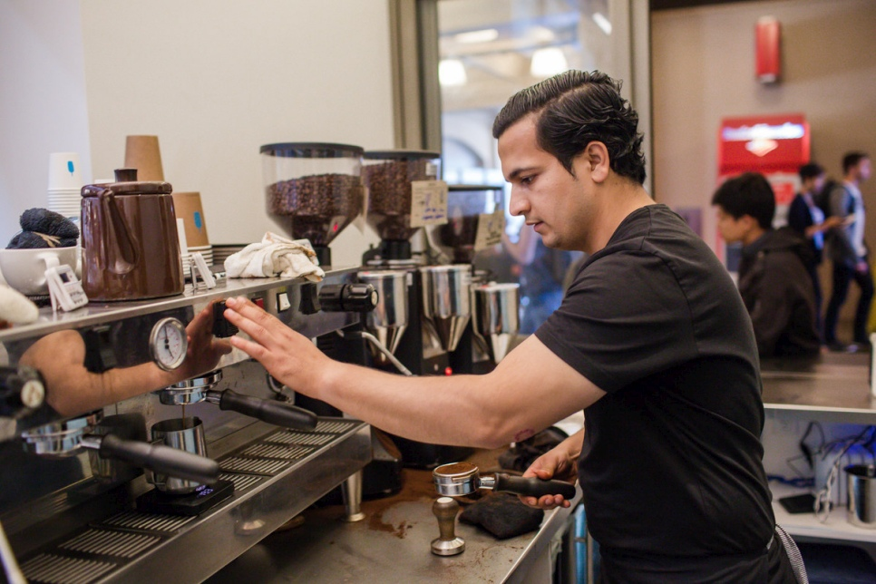 California coffee project gives refugees grounds for hope