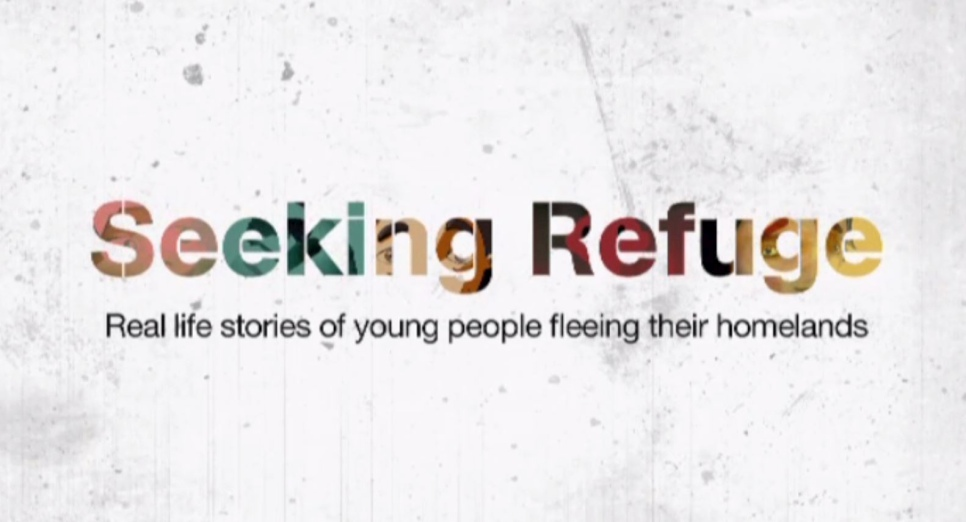 Seeking refuge BBC animation film. Screenshot