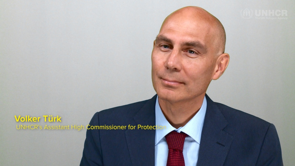 UNHCR protection chief Volker Turk