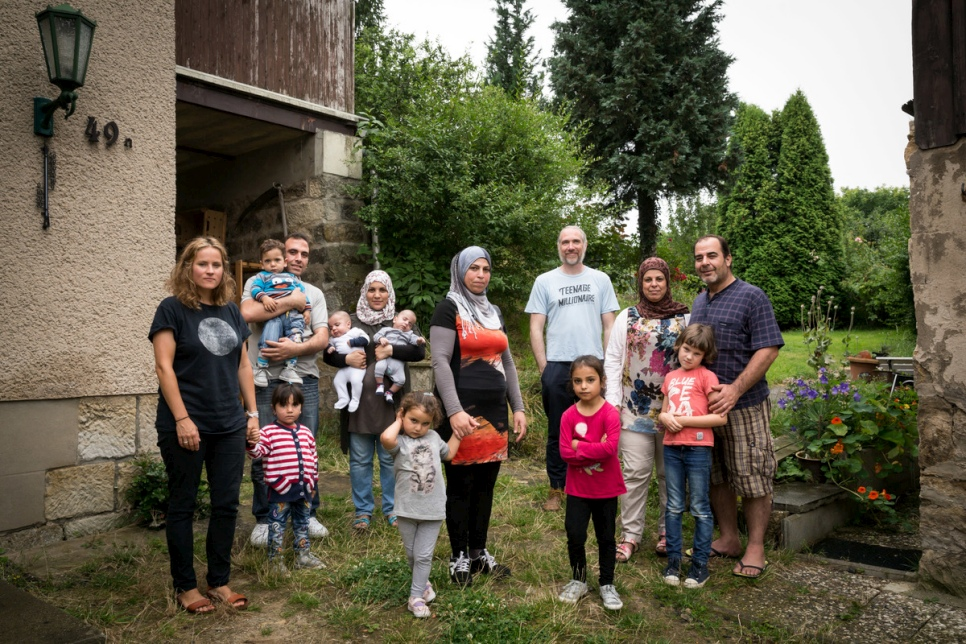 Germany. Safe haven after hellish journey for Syrian family