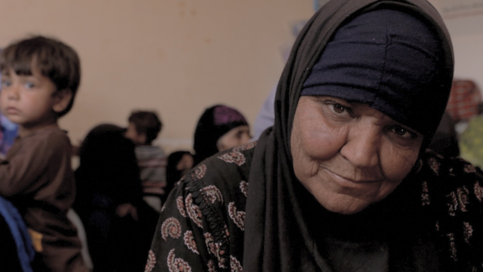 Displaced Iraqi woman from Mosul