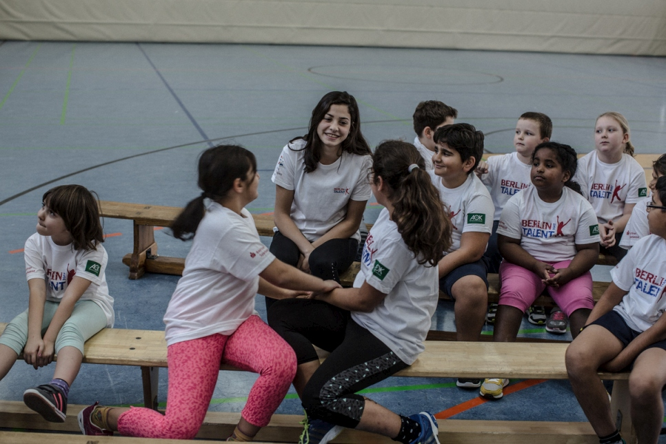 Germany. Refugee Olympian Yusra Mardini keeps training