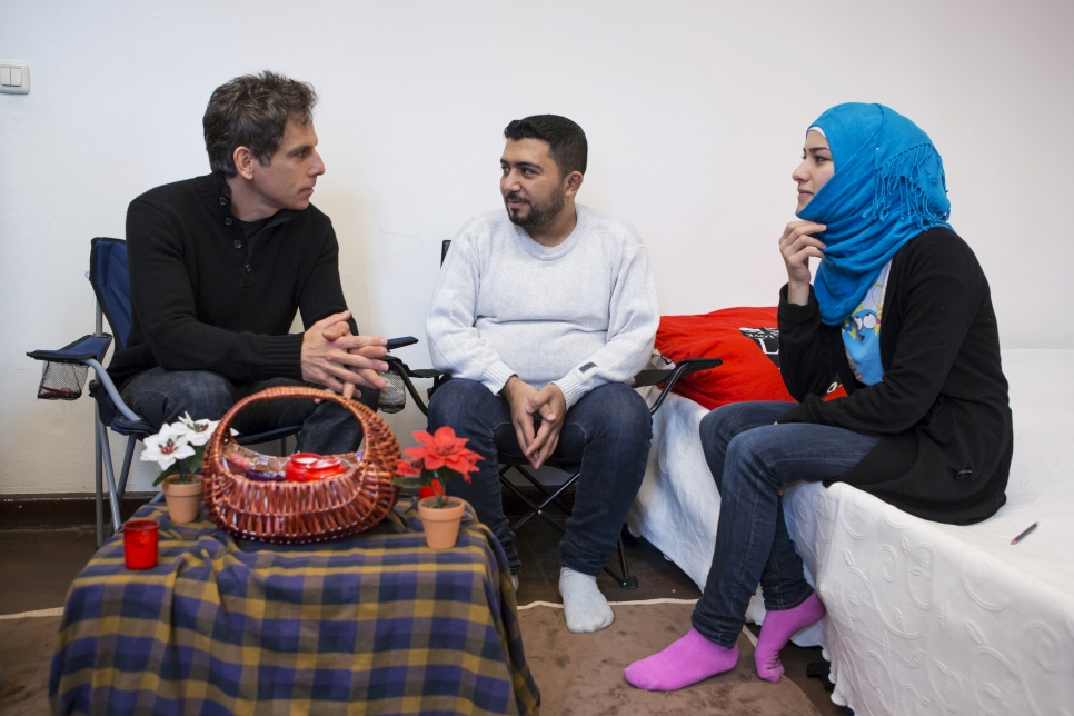 Ben meets Syrian refugees Nahed and Hassan. After a long journey across Europe, their family have found sanctuary in Germany. They are learning German, determined to learn the skills they need to integrate and find work locally.