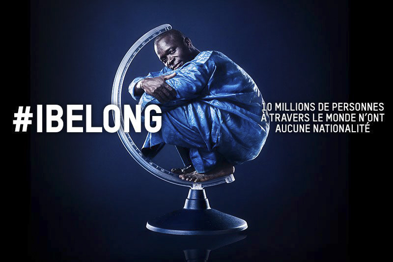 Statelessness Campaign Poster - French Version / UNHCR / November 2014