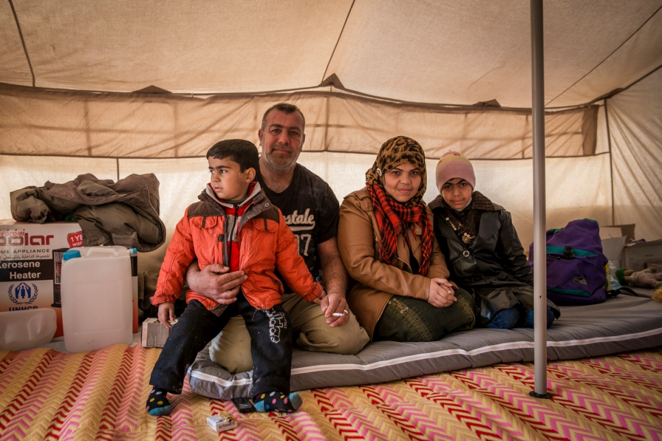 Iraq. IDPs from west Mosul reach safety