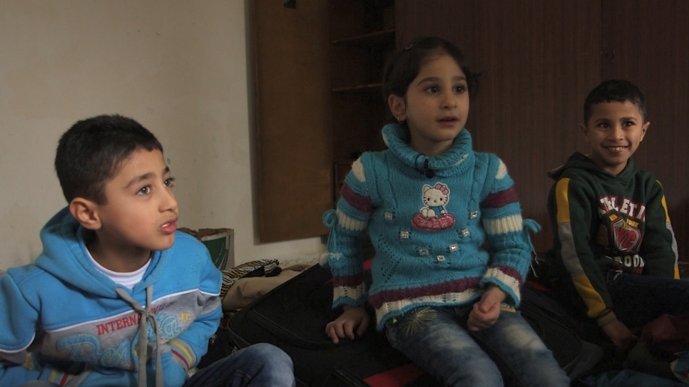 Syrian kids ready for new life in the US